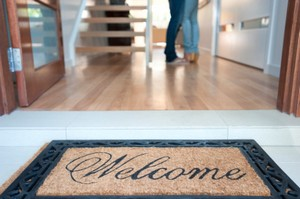 Cortland Real Estate Welcome Home Mat